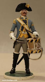 Tradition: Dragoner Trommler stehend, 1712 bis 1786