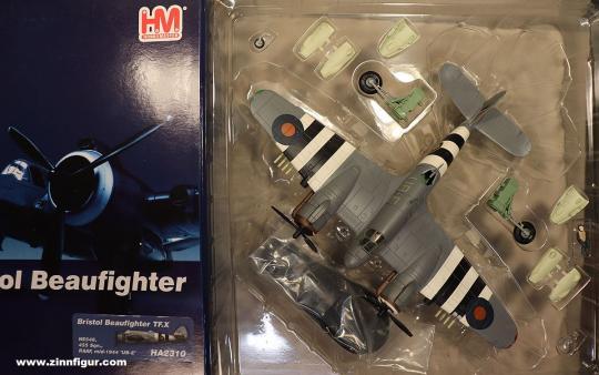 Diverse Hersteller: RAAF Bristol Beaufighter TF.X, 1944 bis 1945