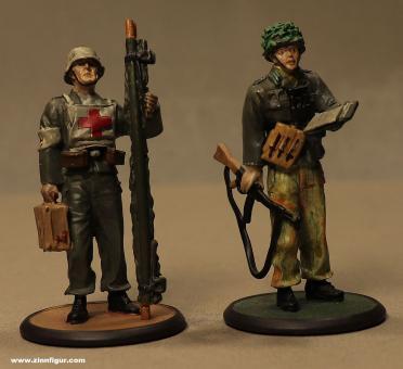 Atlas-Verlag: Zwei deutsche Soldaten, 1944 bis 1945