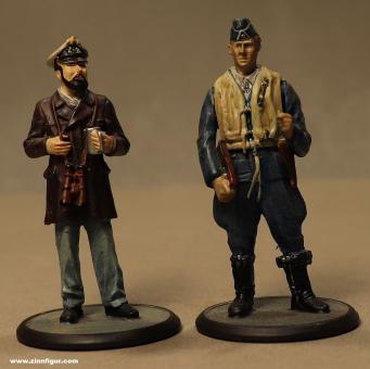 Atlas-Verlag: Zwei deutsche Soldaten, 1939 bis 1945