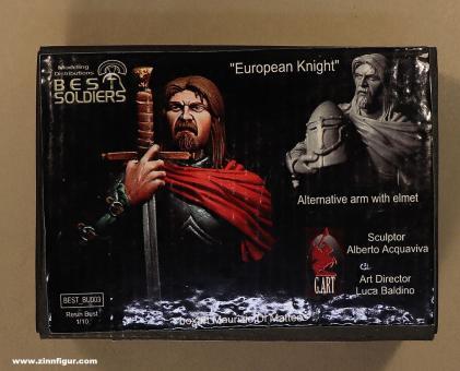 Diverse Hersteller: Büste: Europäischer Ritter, 11. Jh. bis 15. Jh.