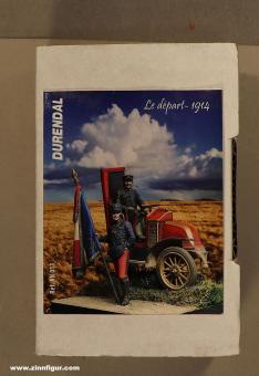 Diverse Hersteller: The departure - Marne cab 1914, 1914