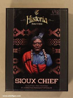 Diverse Hersteller: Büste: Sioux Häuptling, 19. Jh.