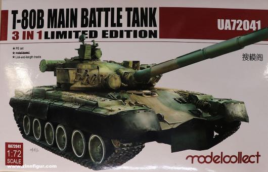 Diverse Hersteller: Russischer Kampfpanzer T-80B - Bausatz, ab 1946