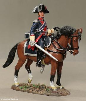 delPrado: Kavallerist der Leibgarde, 1789 bis 1815