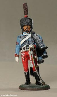 delPrado: Sappeur eines Husarenregiments, 1810, 1789 bis 1815