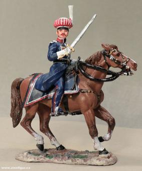 delPrado: Offizier der Krakusen 1812, 1789 bis 1815
