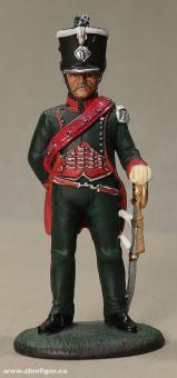 delPrado: Subalternoffizier, 1er Chasseurs,  1.Regiment 1806, 1805