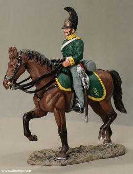 delPrado: Kinburn Dragoner zu Pferd, Mannschaft 1813, 1797 bis 1801