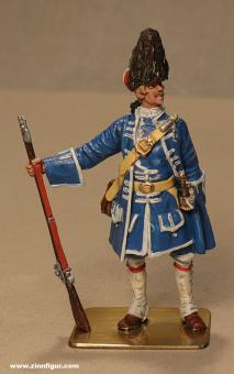 Hecker&Goros: Grenadier stehend, um 1700