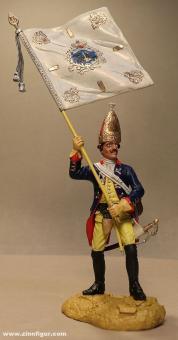 Sieland: Grenadier-Fahnenträger des 6. Regiments, 1712 bis 1786