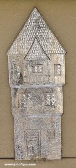 Herst.unbekannt: Hintergrundkulisse: schmales Stadthaus