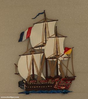 Heinrichsen: Segelschiff, 1700 bis 1850