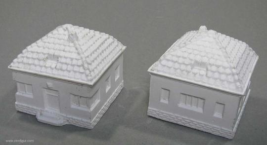 Diverse Hersteller: Kleines Haus (Einfamilienhaus), ab 1900