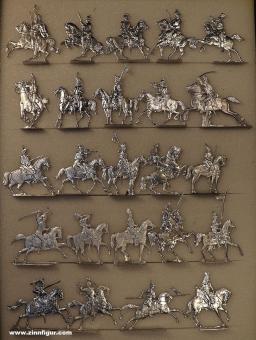 Verschiedene Hersteller: Sammelpackung Kavallerie, 1815 bis 1900