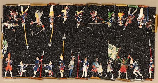 Verschiedene Hersteller: Infanteristen und Artileristen 18. Jahrhundert, 1712 bis 1786