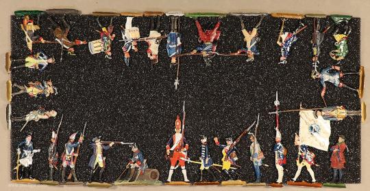 Verschiedene Hersteller: Infanteristen und Artilleristen 18. Jahrhundert, 1712 bis 1786