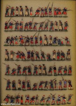 Heinrichsen u.a.: Sammelpackung Infanterie 1870, 1870 bis 1871