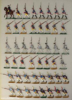 Kieler Zinnfiguren: Prussian Infantry, 1712 bis 1786