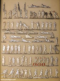 Verschiedene Hersteller: Figures of the 20th. century - Multipack, 20. Jh.