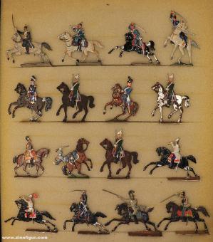 Verschiedene Hersteller: Konvolut Kavallerie, 1815 bis 1870