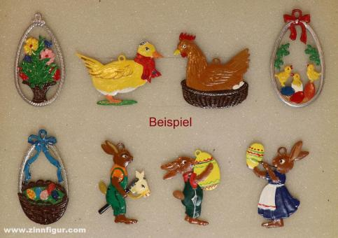 Schweizer, W.: Collective package: eight Easter motives for hanging