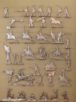 Diverse Hersteller: Figures from old molds