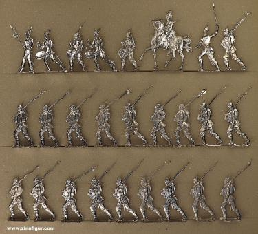 Rieche: Infantry marching, 1870 bis 1871