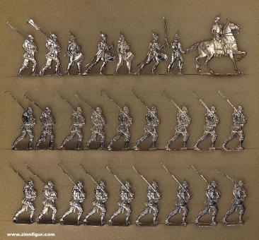 Rieche: Infanterie im Marsch, 1870 bis 1871