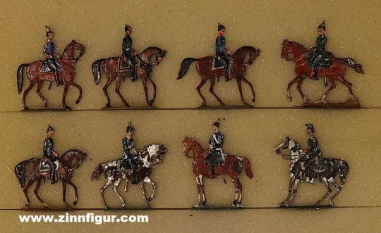 Verschiedene Hersteller: Stab zu Pferd, 1870 bis 1871
