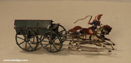 Wegmann ?: Munitionswagen im Galopp, 1870 bis 1871