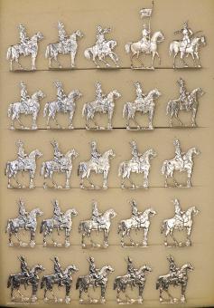 Rieche: Dragoner vor der Attacke, 1870 bis 1871