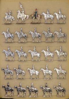 Rieche: Dragoner in Reserve, 1870 bis 1871