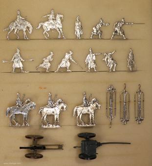Verschiedene Hersteller: Artillerie feuernd, 1870 bis 1871