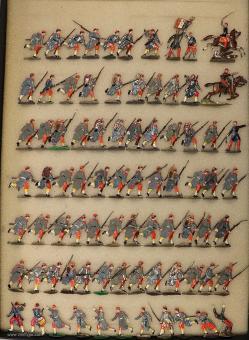 Heinrichsen: Linieninfanterie im Angriff, 1870 bis 1871