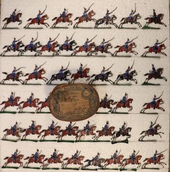 Heinrichsen: Dragoner im Angriff, 1871 bis 1918