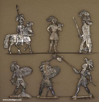 Engels/Verden: Additional figures for the knights tournament, 12. Jh. bis 15. Jh.