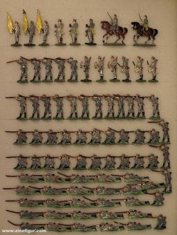 Heinrichsen: Austrian infantry firing, 1914 bis 1918