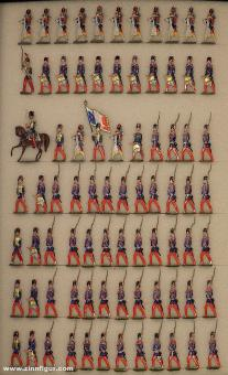Diverse Hersteller: Parde of the Grenadiers of the guard, 1859 bis 1870