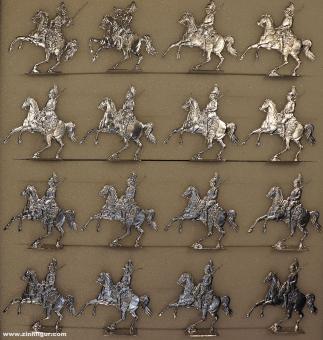 Rieche: Saxon heavy cavalry, 1870 bis 1871