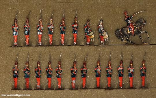 Rieche: Grenadiere der Garde, 1845 bis 1870