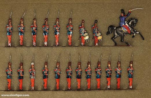 Rieche: Grenadiers of the guard, 1845 bis 1870