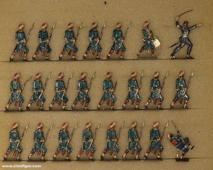 Rieche: Turcos im Angriff, 1870 bis 1871