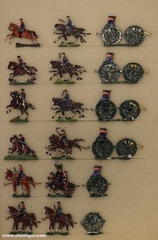 Heinrichsen: Horse drawn artillery, 1870 bis 1871