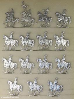Verschiedene Hersteller: Garde du Corps im Marsch, 1871 bis 1918