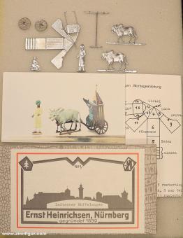 Heinrichsen: Indian buffalo wagon, 1815 bis 1870