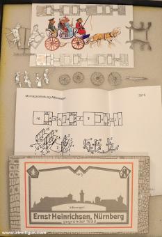 Heinrichsen: Affenwagen, 1815 bis 1870