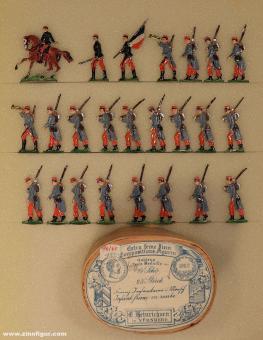 Heinrichsen: Infantry marching, 1870 bis 1871