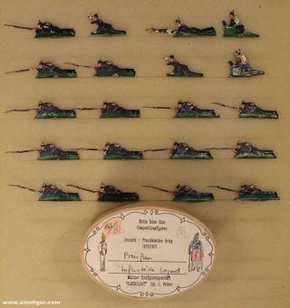 Heinrichsen: Infantry prone, 1870 bis 1871