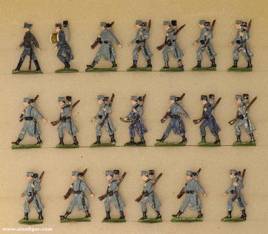 Heinrichsen: Infantry marching, 1915